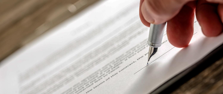 Contract vertalen